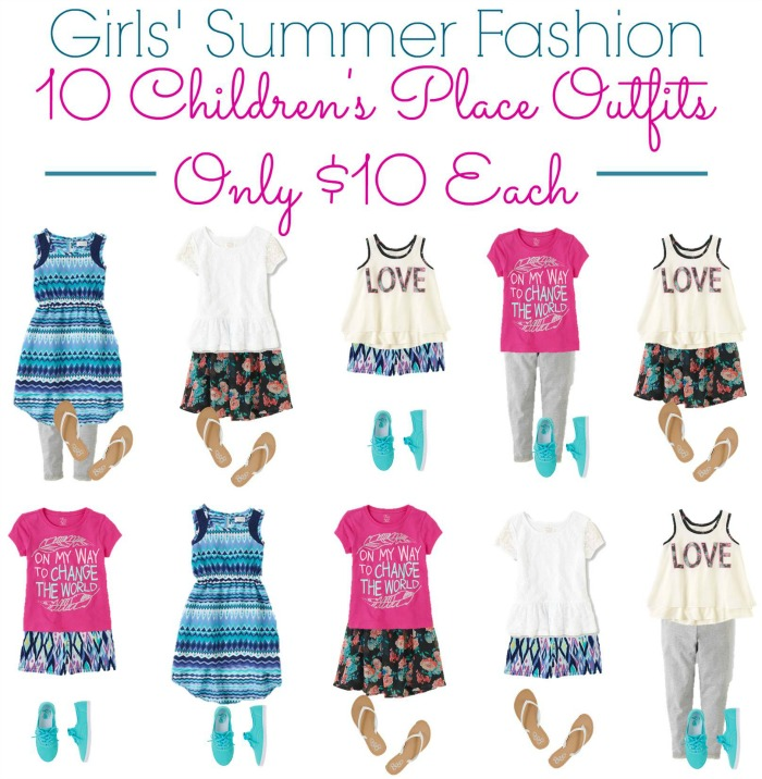 Girls' Summer Fashion TCP VERTICAL 700