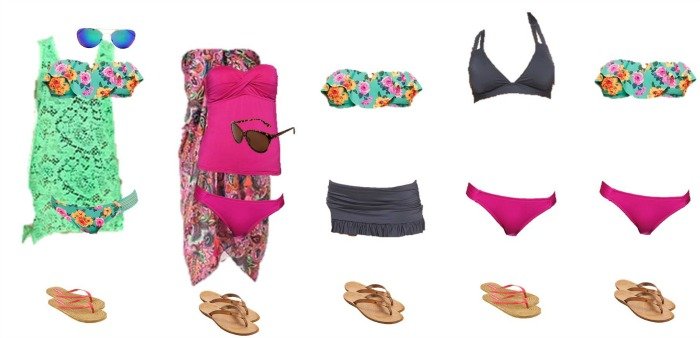 Target Mix and Match Swimwear Fashion Board 1 700