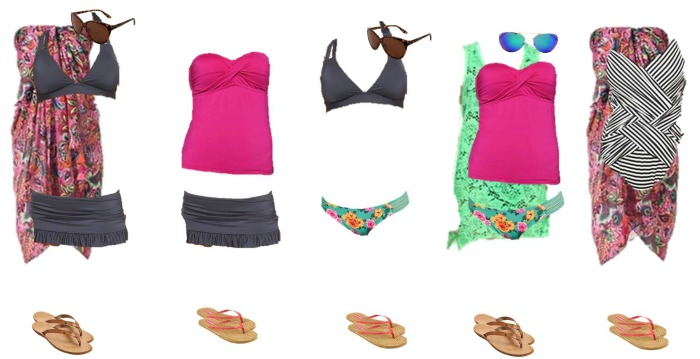 Target Mix and Match Swimwear Fashion Board 2 700