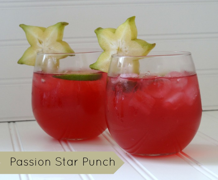 Quench Your Thirst with Passion Star Punch