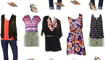 Kohls Mix and Match Summer Wardrobe