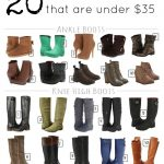 20 Boots for Fall that Are Under $35