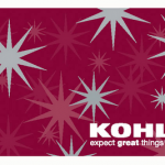 $25 Kohls Gift Card Giveaway – Open WW