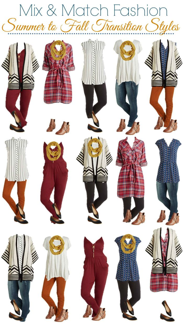 ModCloth Mix and Match Wardrobe Summer to Fall