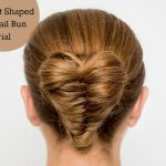 Heart Shaped Fishtail Braid Bun Hair Tutorial Video