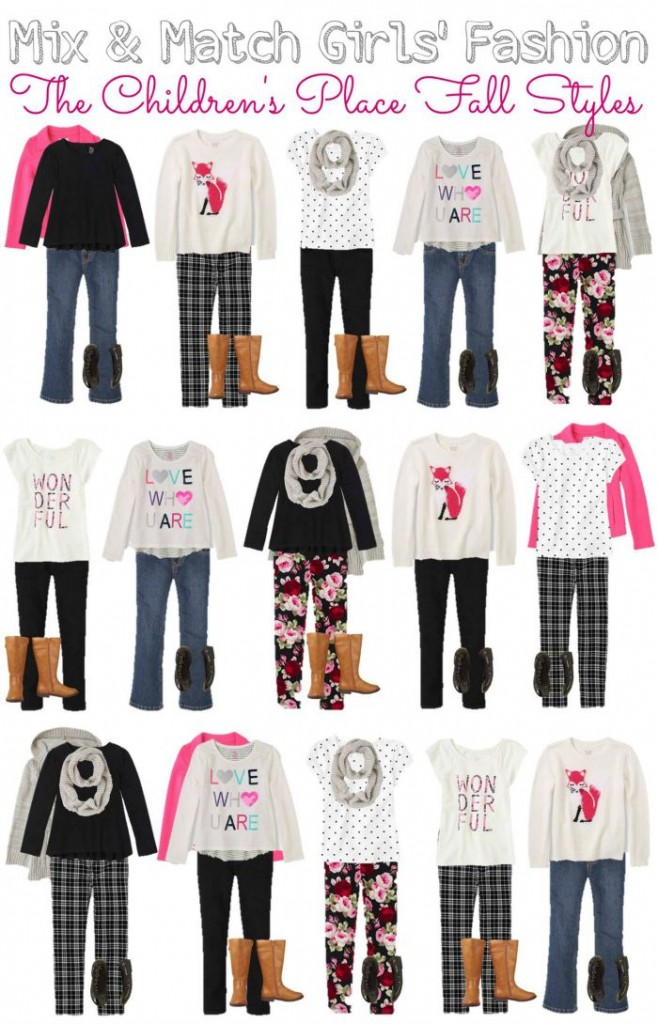 Childrens Place Girls Mix Match wardrobe