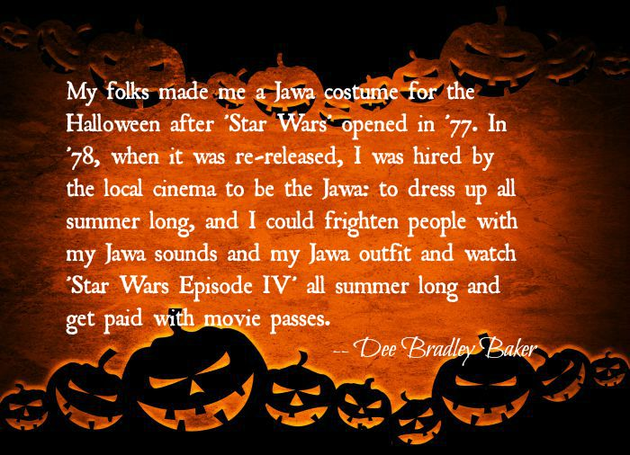 Star Wars costume halloween quote