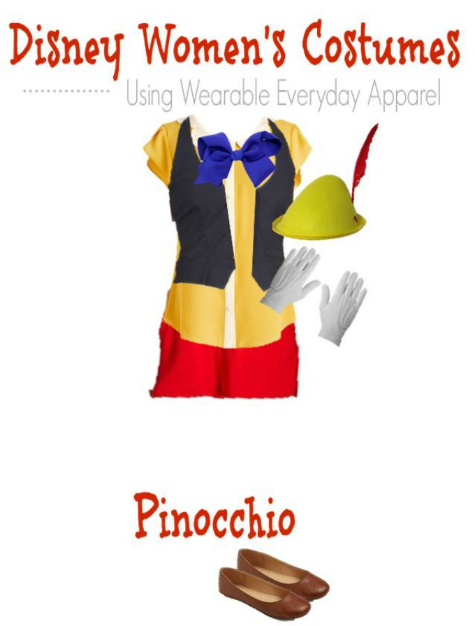 DIY Pinocchio Halloween Costume
