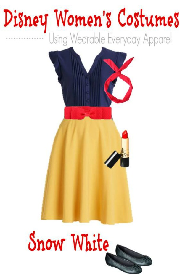 DIY Snow White Halloween Costume for Adults