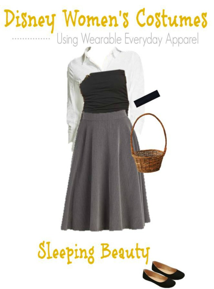 Sleeping Beauty DIY Halloween Costume for Adults
