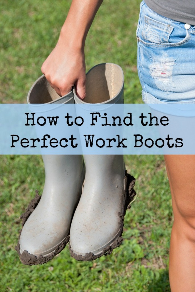 How to find the perfect work boots