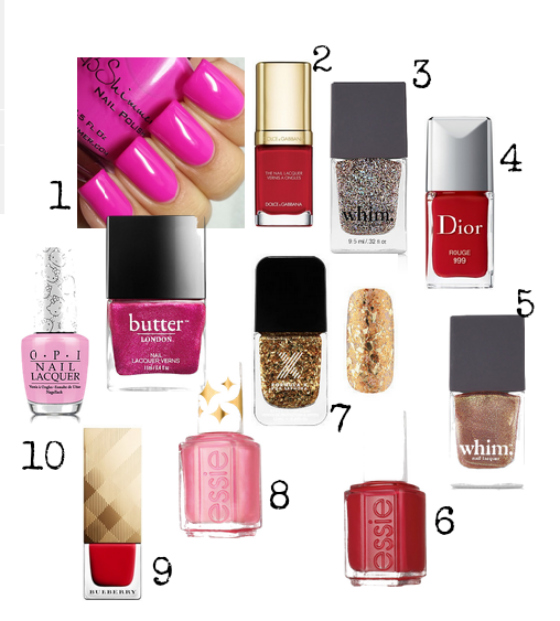 valentines day nail polishes numb