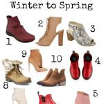 10 Awesome Booties that Transition from Winter to Spring