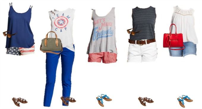 Patriotic Mix and Match Fashion - Target 11-15