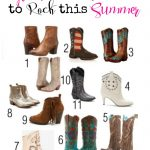 Great Cowboy Boots to Rock this Summer