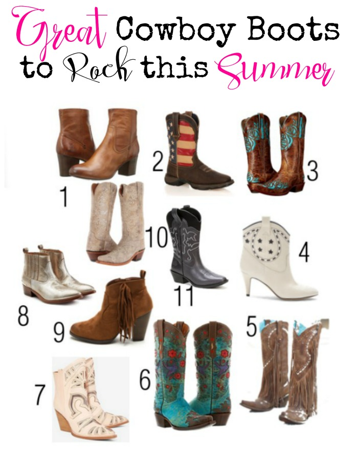 Great Cowboy Boots to Rock this Summer - Style on Main