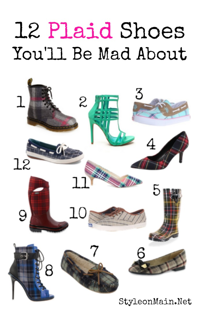 12 Plaid Shoes that You'll Go Mad For