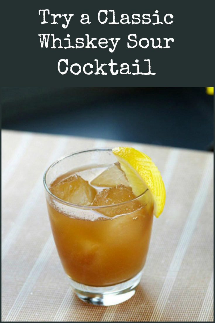 How to make a classic Whiskey Sour cocktail