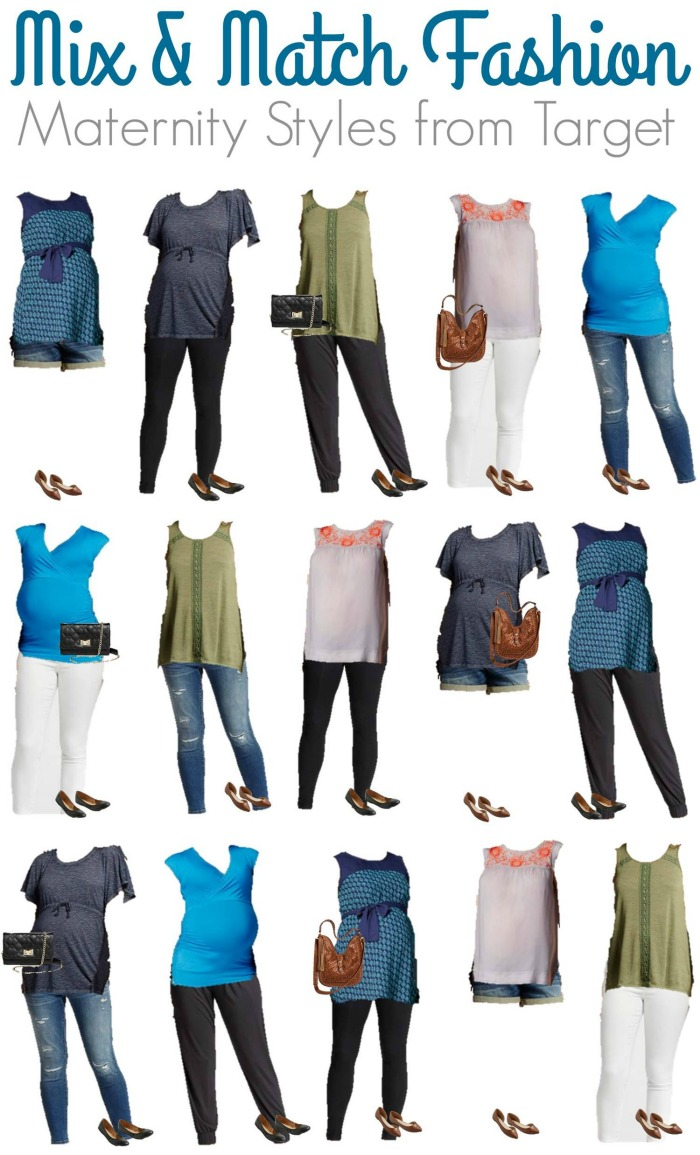 Mix and Match Maternity Fashion from Target