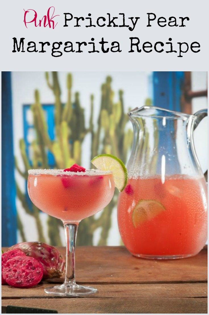 Pink Prickly Pear Margaritas