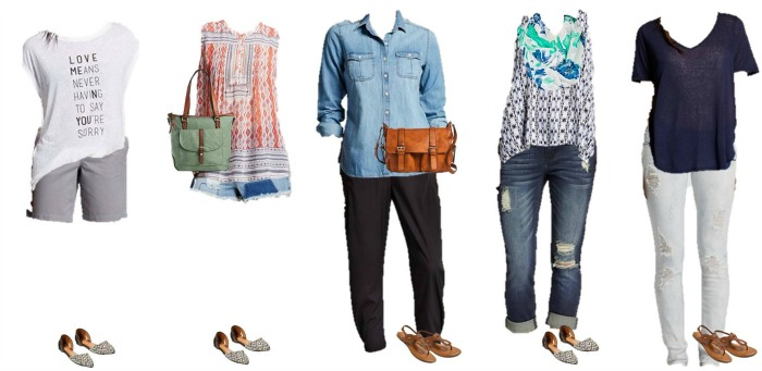 Target Summer into Fall Mix & Match styles