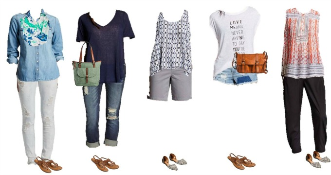 Target Summer into fall Mix & Match Fashion