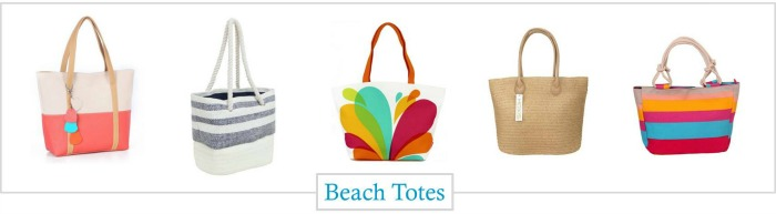 Tote bags for summer into fall
