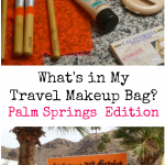 What's in My Travel Makeup Bag | Palm Springs Edition