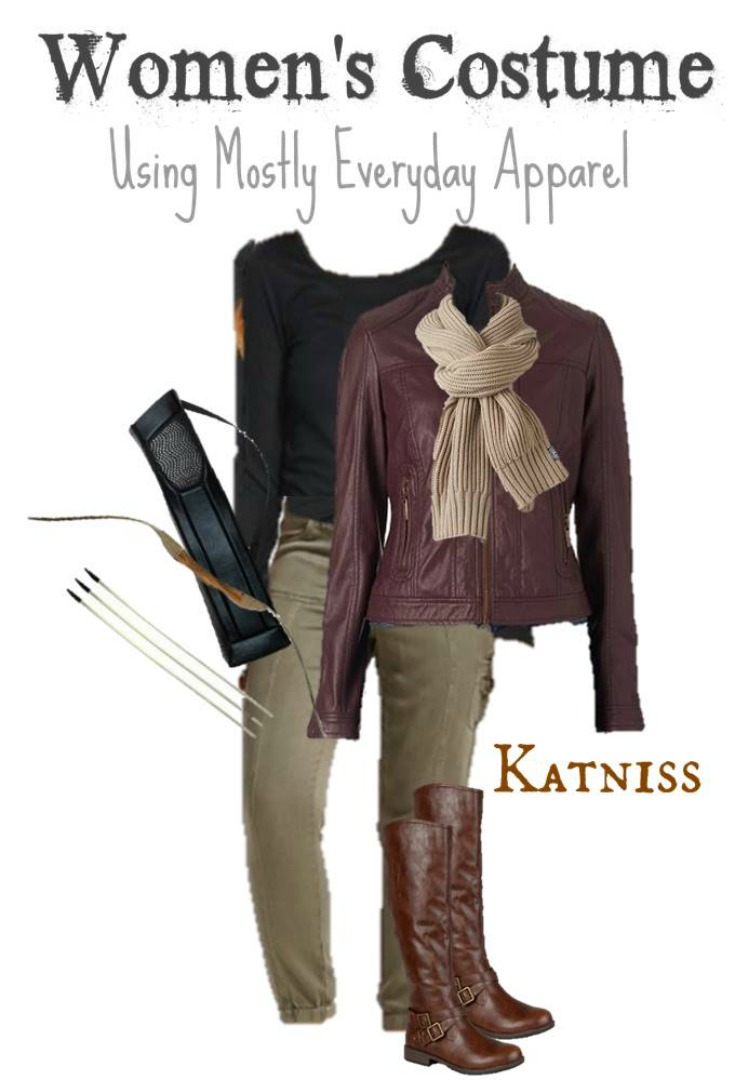 DIY Katniss Everdeen Halloween Costume for Adults