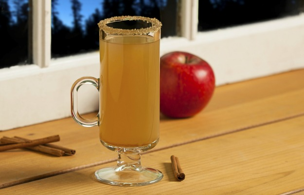 Try a Spiked Spiced cider cocktail that's perfect for fall