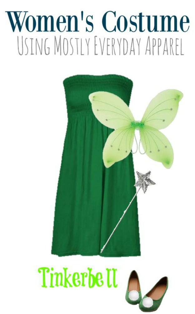Tinkerbell DIY Halloween Costume for Adults