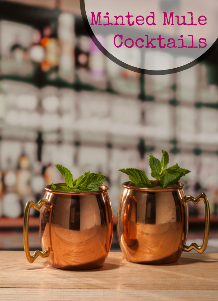 Try something new with this Minted Mule cocktail recipe. It's a great twist on a classic Moscow Mule.