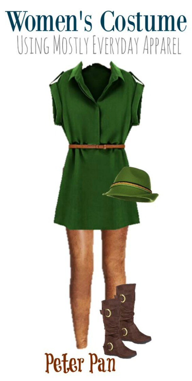 DIY Peter Pan Halloween Costume for Adults