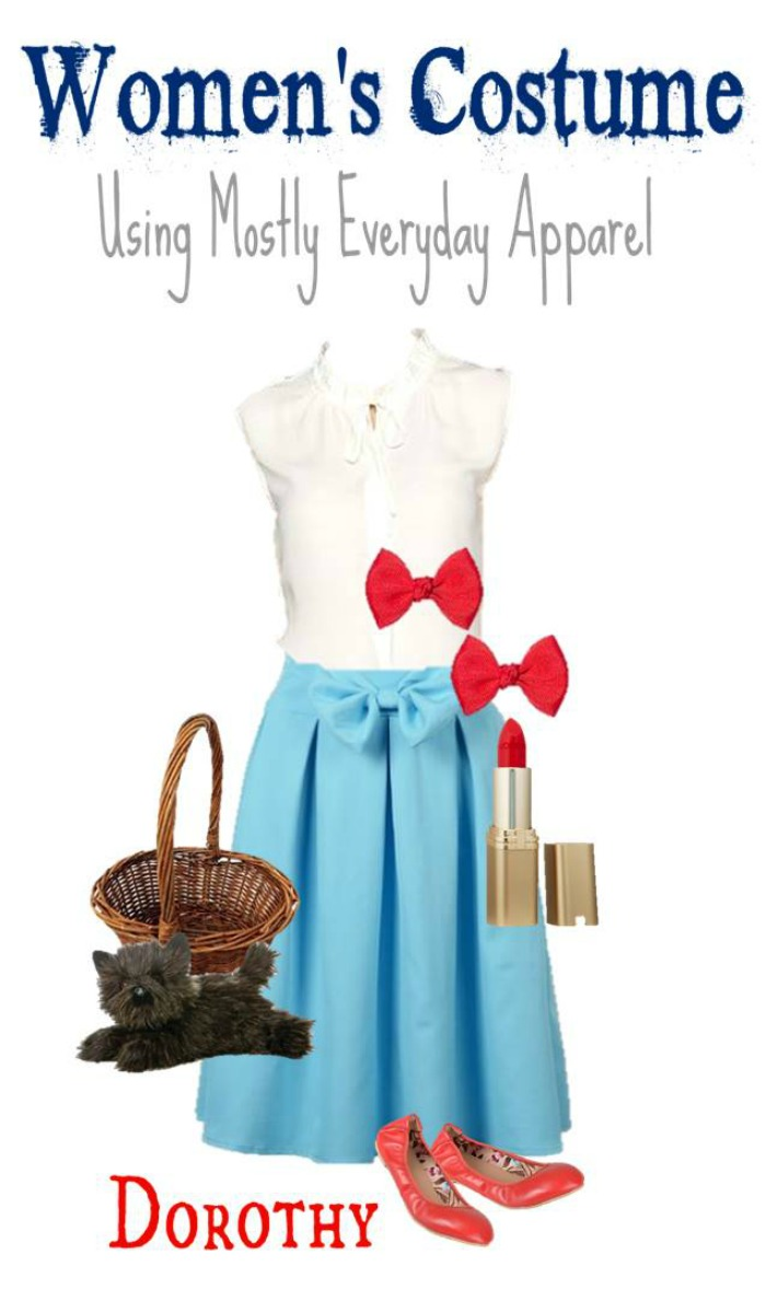 diy dorothy from wizard of oz halloween costume for adults - style