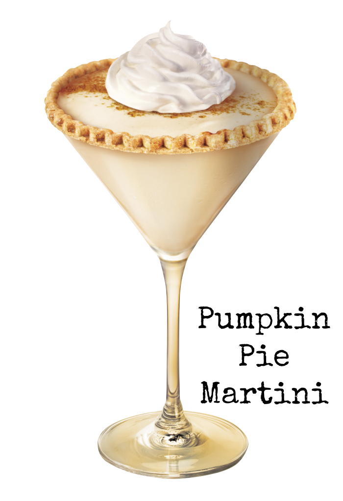 The perfect Pumpkin Pie Martini for Thanksgiving