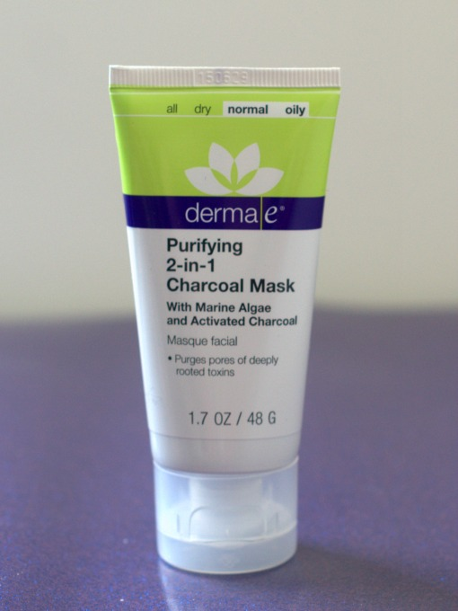 derma e purifying charcal face mask skin care product