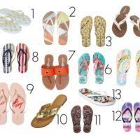 13 Great Flip Flops for Summer 2017