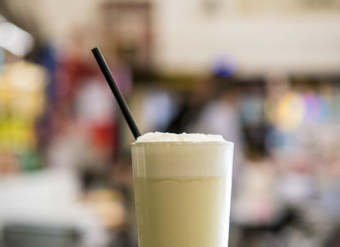 Very Vanilla spiked milkshake recipe