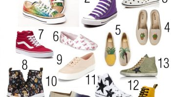 Great canvas shoes to take you from summer to fall