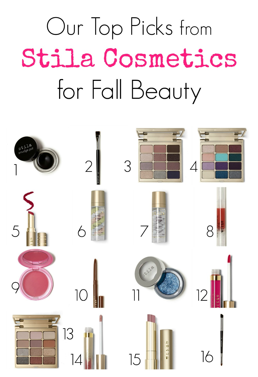 Check out our favorite Stila Cosmetics beauty picks for fall.