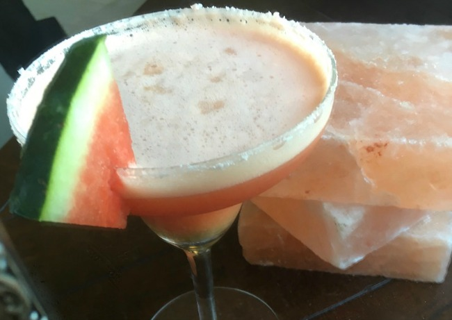 Delicious Ginger Watermelon Margarita recipe