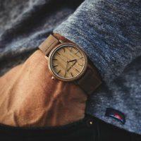Original Grain Minimalist espresso watch