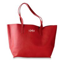 East West Leather Tote from Mark & Graham