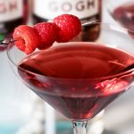 Chocolate Covered Raspberry Martini Cocktail Recipe