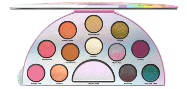 Life's a Festival Eye shadow pallete by too faced