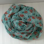 Anchors Aweigh Infinity Scarf Giveaway