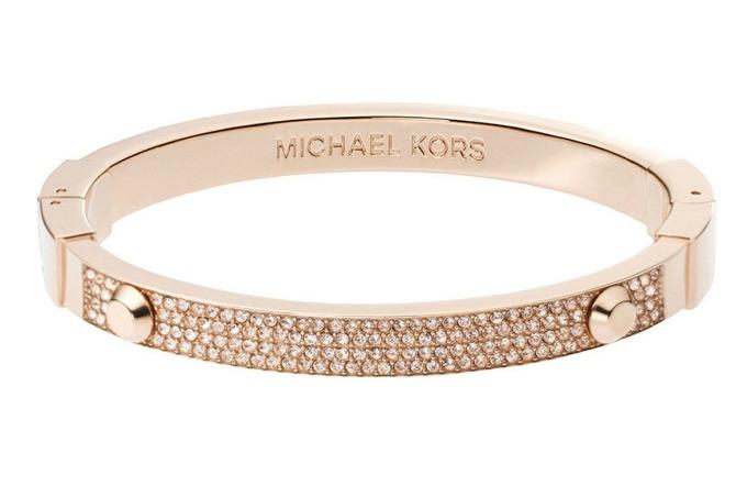 Rose gold michael kors astor bracelet