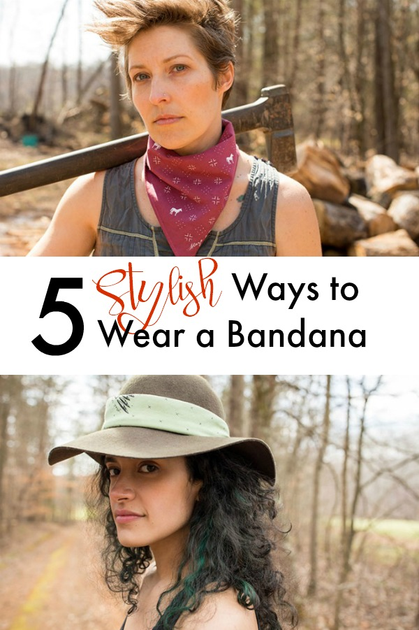 5 great ways to wear a bandana | square scarf | style a bandanna | fashion accessory | accessories | artisan handmade goods