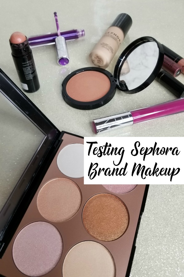 We tested the Sephora houe brand of makeup. See if these cosmetics stand up to the big name brand and luxe high end beauty items.