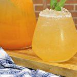Boozy Cantaloupe Agua Fresca Cocktail Recipe